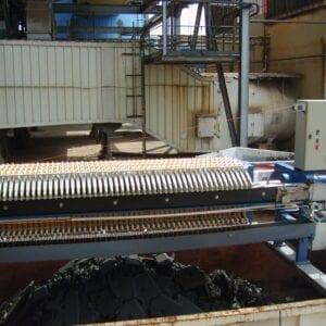 Aqua Traitements Saint Victoret Déshydratation des boues Filtre à Presse transportable Dafim
